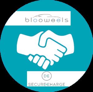 logo collaboration blooweels-securecharge